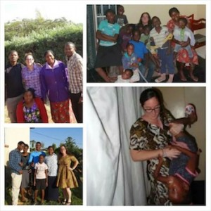 Oz Orphanage Photo Collage at an orphanage in Zambia.
