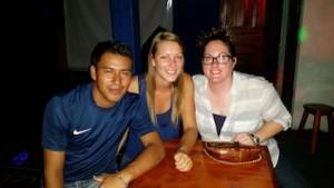 My local friends Ashley and Alex
